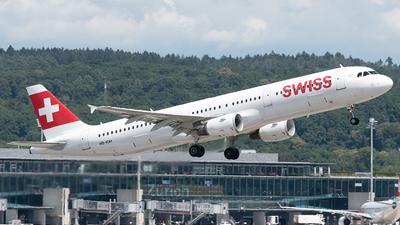 A picture of HBIOH - Airbus A321111 - Swiss - © Selzam-Rosser