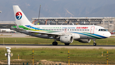 A picture of B6458 - Airbus A319115 - China Eastern Airlines - © WYANG0520