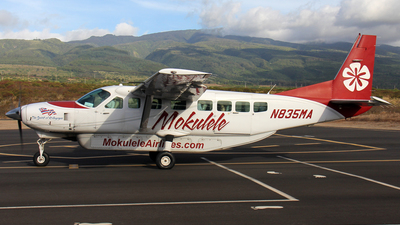 N835MA - Cessna 208B Grand Caravan - Mokulele Airlines