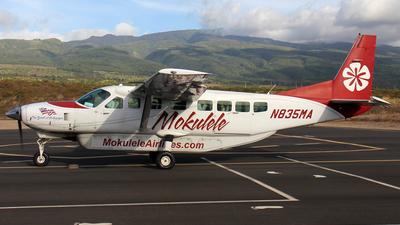 A picture of N835MA - Cessna 208B Grand Caravan - Mokulele Airlines - © Kendrick Dlima