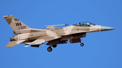 84-1220 - Lockheed Martin F-16C Fighting Falcon - United States - US Air Force (USAF)