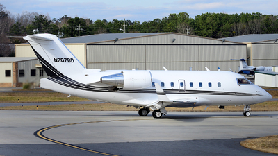N807DD - Bombardier CL-600-2B16 Challenger 601-3R - Private