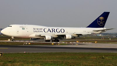 TF-AMM - Boeing 747-4H6(BDSF) - Saudi Arabian Airlines Cargo (Air Atlanta Icelandic)
