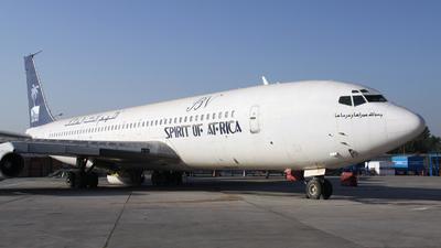 5Y-BRV - Boeing 707-307C - Spirit of Africa