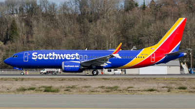 A picture of N8735L - Boeing 737 MAX 8 - Southwest Airlines - © PrestonFiedler