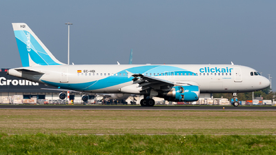 EC-HQI - Airbus A320-214 - Clickair