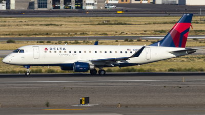 A picture of N260SY - Embraer E175LR - Delta Air Lines - © David Lee