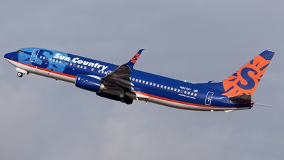 A picture of N821SY - Boeing 7378FH - Sun Country Airlines - © Oksana