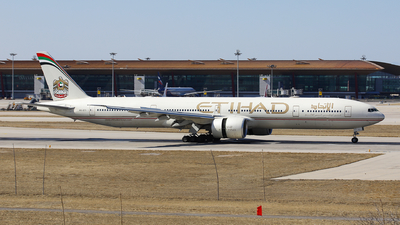 A picture of A6ETI - Boeing 7773FX(ER) - Etihad Airways - © Memory of the Winter