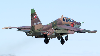 RF-92256 - Sukhoi Su-25UB Frogfoot - Russia - Air Force
