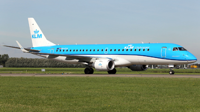 PH-EXV - Embraer 190-100STD - KLM Cityhopper