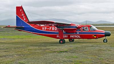 VP-FBO - Britten-Norman BN-2A Islander - Falkland Islands Government Air Services (FIGAS)
