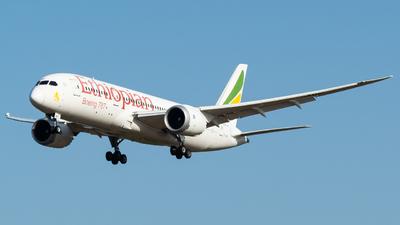 ET-AOP - Boeing 787-8 Dreamliner - Ethiopian Airlines