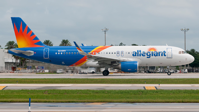 A picture of N248NV - Airbus A320214 - Allegiant Air - © Mark Lawrence