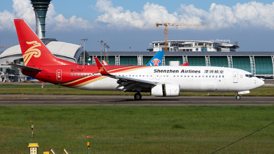 A picture of B1757 - Boeing 73787L - Shenzhen Airlines - © XPHNGB