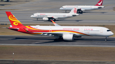 A picture of BLGH - Airbus A350941 - Hong Kong Airlines - © Jeffrey.W