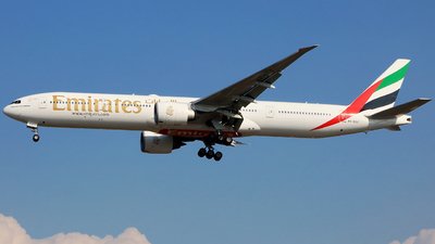 A picture of A6ECZ - Boeing 77731H(ER) - Emirates - © Heppy Mahendro