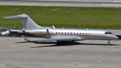 9H-VJG - Bombardier BD-700-1A10 Global 6000 - VistaJet