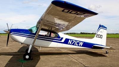 N71CW - Cessna 180E Skywagon - Private