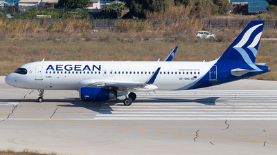 A picture of SXDNC - Airbus A320232 - Aegean Airlines - © Niklas Engel