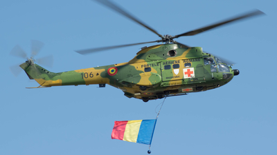 106 - IAR-330M Puma - Romania - Air Force