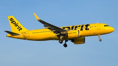 A picture of N936NK - Airbus A320271N - Spirit Airlines - © Davis Dore