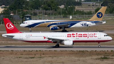 TC-ATB - Airbus A321-211 - AtlasJet