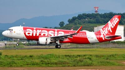 9M-AGP - Airbus A320-216 - AirAsia