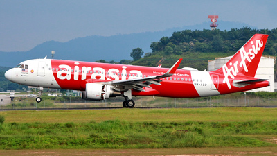 A picture of 9MAGP - Airbus A320216 - AirAsia - © Buaran Spotter