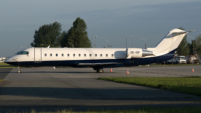 OE-ISF - Bombardier CL-600-2B19 Challenger 850 - International Jet Management