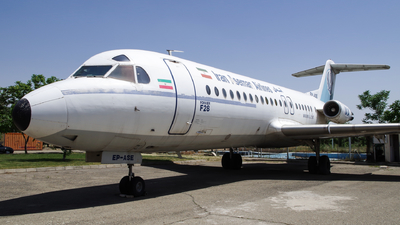 EP-ASE - Fokker F28-4000 Fellowship - Iran Aseman Airlines