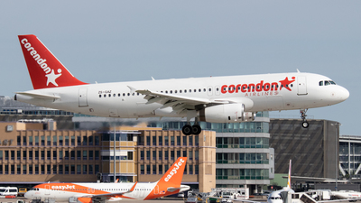 ZS-GAZ - Airbus A320-231 - Corendon Airlines (Global Aviation)
