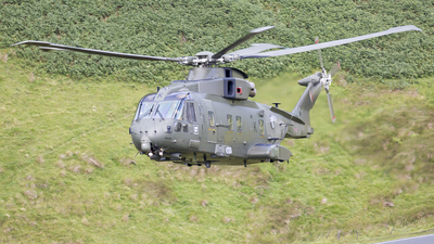ZJ126 - Agusta-Westland Merlin HC.3 - United Kingdom - Royal Air Force (RAF)