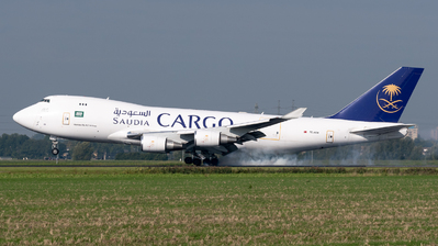 TC-ACM - Boeing 747-428ERF - Saudi Arabian Airlines Cargo (ACT Airlines)