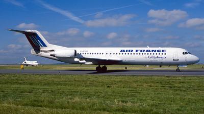 G-BYDO - Fokker 100 - Air France (Gill Airways)