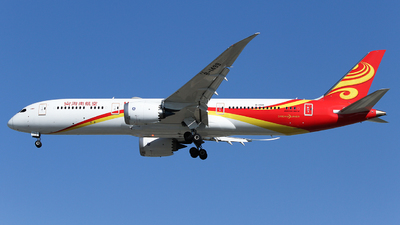 A picture of B1499 - Boeing 7879 Dreamliner - Hainan Airlines - © ceci wong