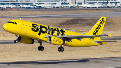 N603NK - Airbus A320-232 - Spirit Airlines