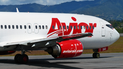 YV3243 - Boeing 737-4B7 - Avior Airlines