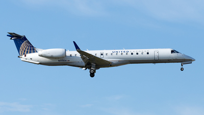 A picture of N11106 - Embraer ERJ145XR - United Airlines - © Yixin Chen