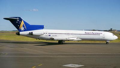 VH-ANB - Boeing 727-277(Adv) - Ansett Australia