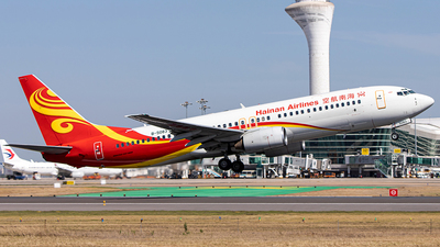 A picture of B5083 - Boeing 737883 - Hainan Airlines - © Deutsch lighting II