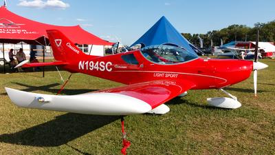 N194SC - Czech Sport Aircraft PS-28 Cruiser - Private