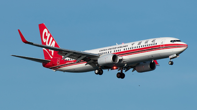 B-207Z - Boeing 737-89P - China United Airlines