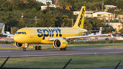 A picture of N920NK - Airbus A320271N - Spirit Airlines - © Jacob Singer
