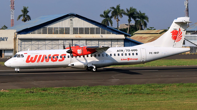 PK-WHP - ATR 72-212A(600) - Wings Air