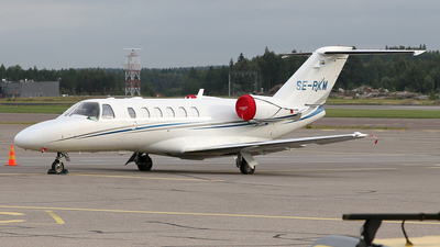 SE-RKM - Cessna 525A CitationJet 2 Plus - Private