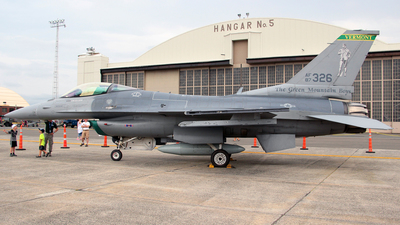 87-0326 - General Dynamics F-16C Fighting Falcon - United States - US Air Force (USAF)