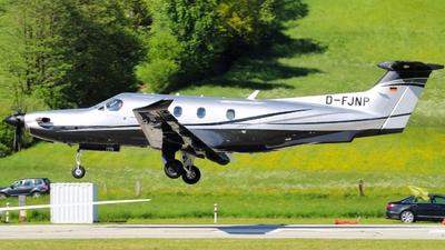D-FJNP - Pilatus PC-12/47E - Private
