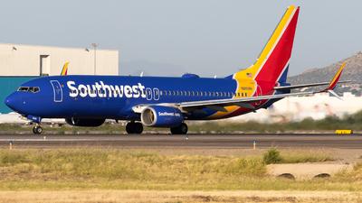 N8608N - Boeing 737-8H4 - Southwest Airlines