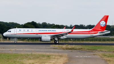 D-AVZL - Airbus A321-271N - Sichuan Airlines